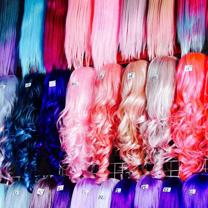 parrucche donna carnevale