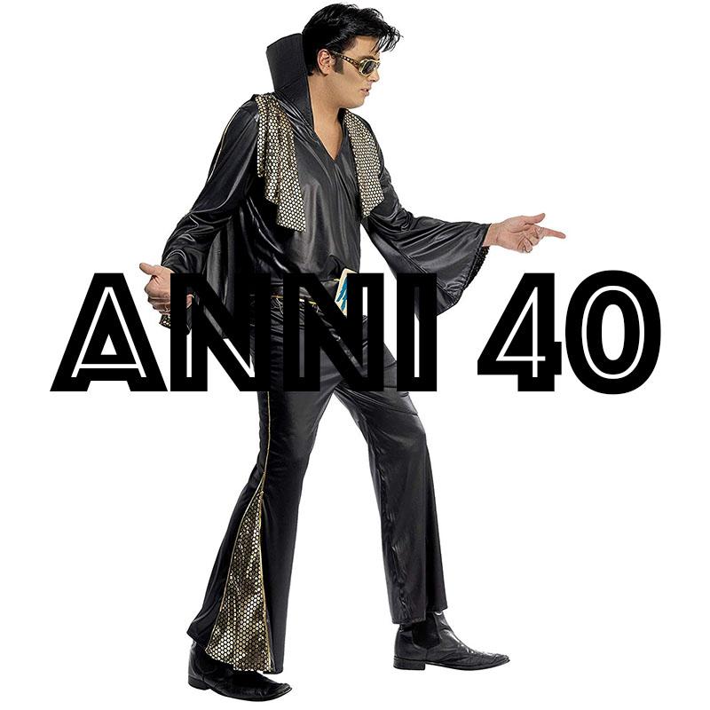 costumi anni 40 e 50