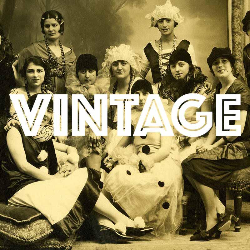 customi di carnevale vintage